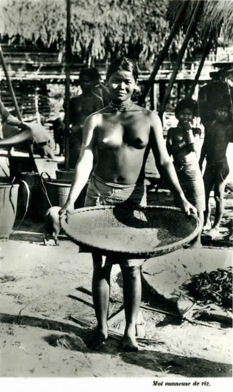 Old photos of Vietnamese ethnicity, ethnic people in Vietnam, Vietnamese people under colonial time
